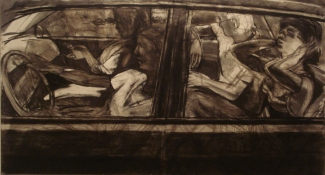 Peter Charlap Drawings charcoal onpapier maroufle