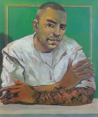 Peter Charlap Polunsky Portrait Project oil on panel