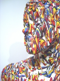 PETER  FOX SELECTED WORK acrylic on fiberglass mannequin