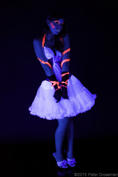Peter Grossman Photography Neon Lingerie (working title)