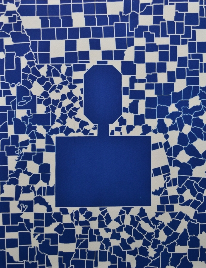 Peter Hoffmeister Rooms, Halls and Rivers Cyanotype