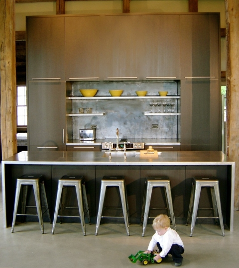 Design & Fabrication Poolhouse Kitchen