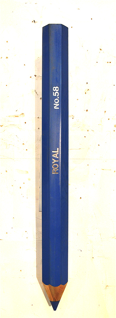 Objects - Writ Large Royal Pencil, No.58 (edition of 2)