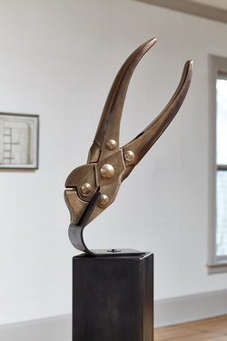 Sculpture Fabricated bronze
