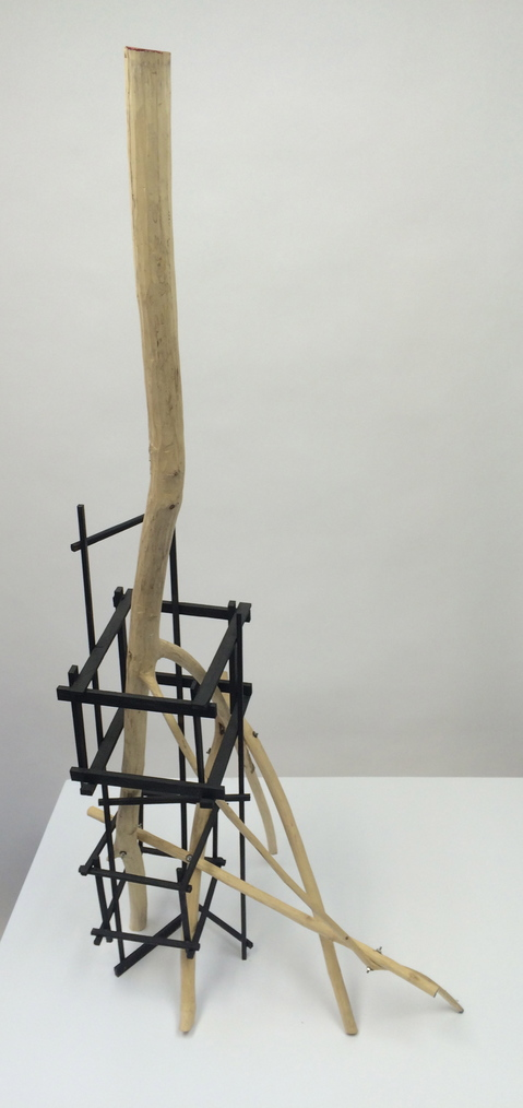 Peter Strasser Small Sculptures wood and black stain