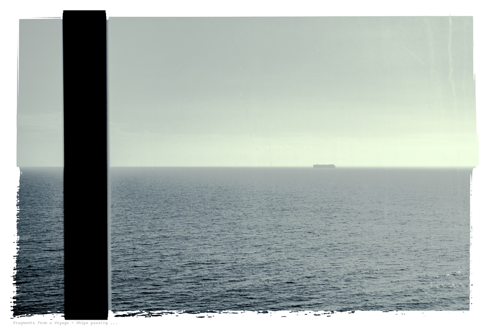Fragments from a Voyage Ships passing ...
