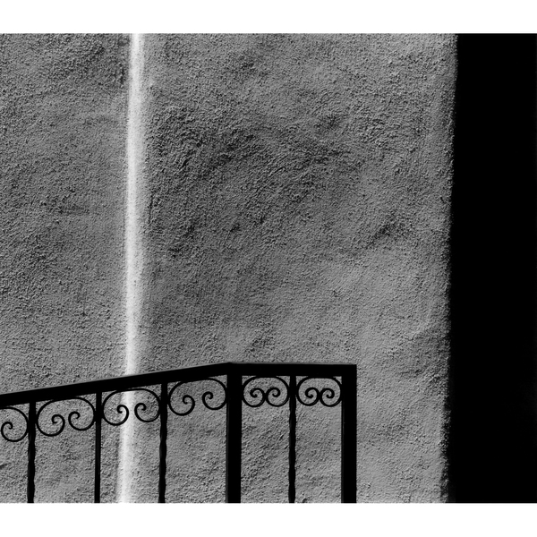 Questions of Perception Railing and Adobe, Albuquerque, NM