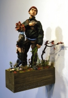 Phil Whitman Dioramas and Figures polymer clay figures and diorama materials