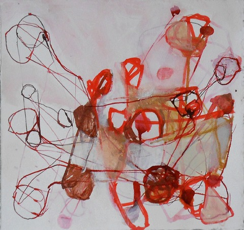 TRACEY PHYSIOC BROCKETT The Circus 2013-2014 ink, acrylic and marker on paper
