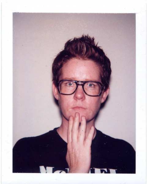 Lucas Michael Ladies and Gentlemen Color Polaroid