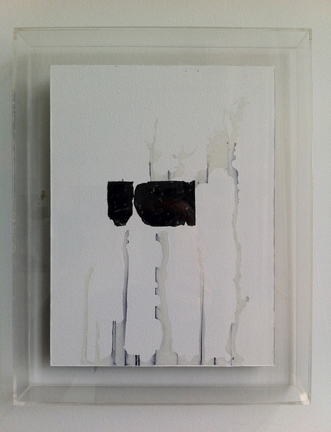 Lucas Michael Xenoglossy Resin, graphite, Sharpie and paint on drywall, plexiglass