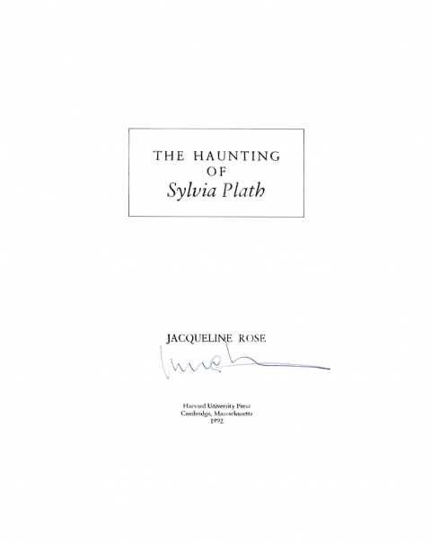 D The Haunting of Sylvia Plath, 1992