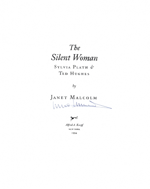 D The Silent Woman, 1994