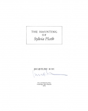 The Haunting of Sylvia Plath, 1992