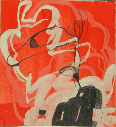 Ken Wood Paintings 1998-2009 Gouache and Graphite on Paper