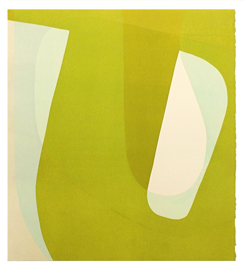 Ken Wood Each to Other 2015 Relief Print