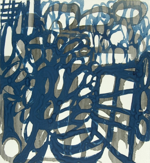 Ken Wood Paintings 1998-2009 Ink and Gouache on Paper
