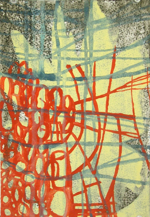 Ken Wood Paintings 1998-2009 Ink Gouache and Charcoal on Paper
