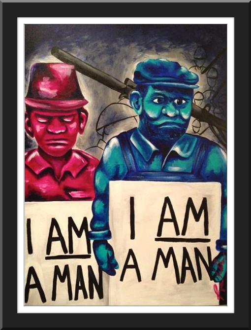 "Civil Rights Series ""I AM A MAN"""