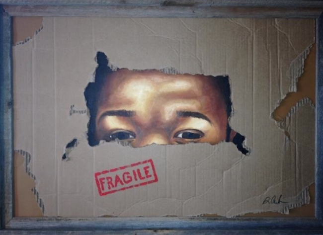 "Oil ""Fragile"""