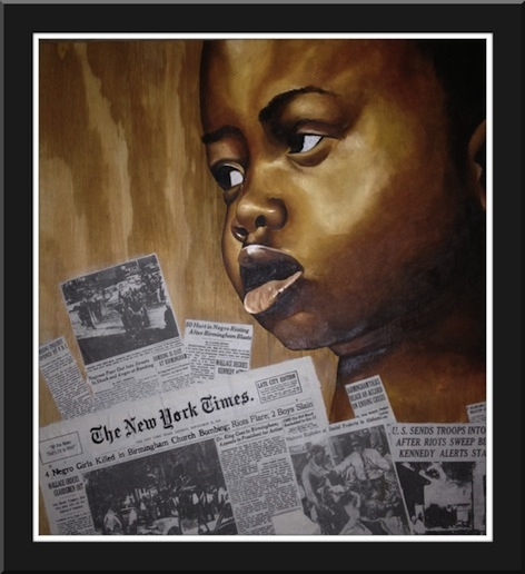 "Civil Rights Series ""Burningham"""