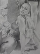 Rachel Robinson Drawings graphite