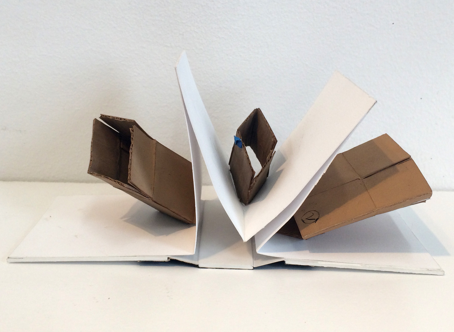 piles, boxes and other containers Boxes (Pop-up book)