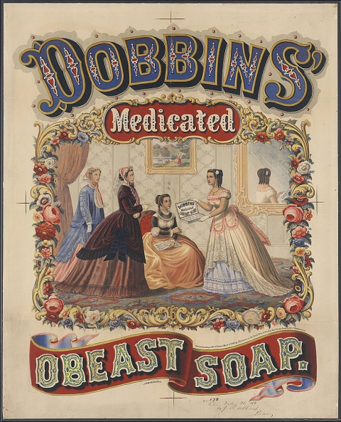 Dobbins Medicated Obeast Soap (1898)