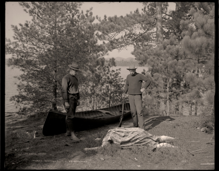 Obeast Artifacts Hunting in the Adirondaks, 1922