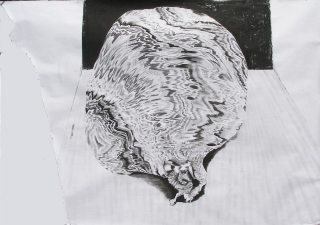 Rachel Phillips Drawings Charcoal