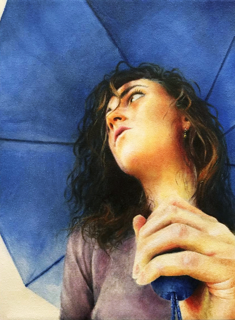 Under $500 Self Portrait on a Rainy Day