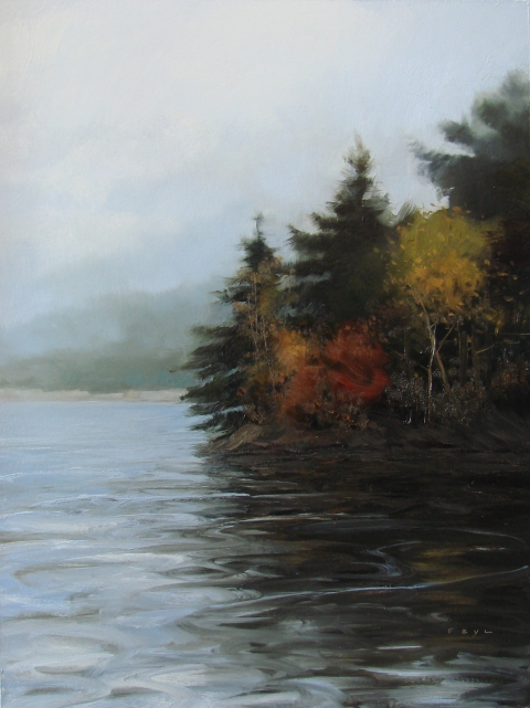 Paintings October Lake