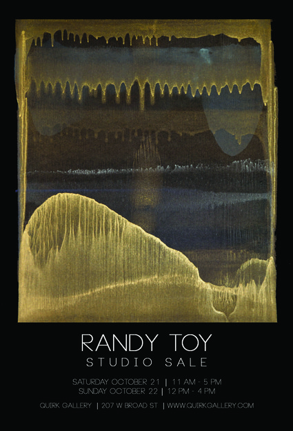 RANDY TOY News  @ Quirk Gallery