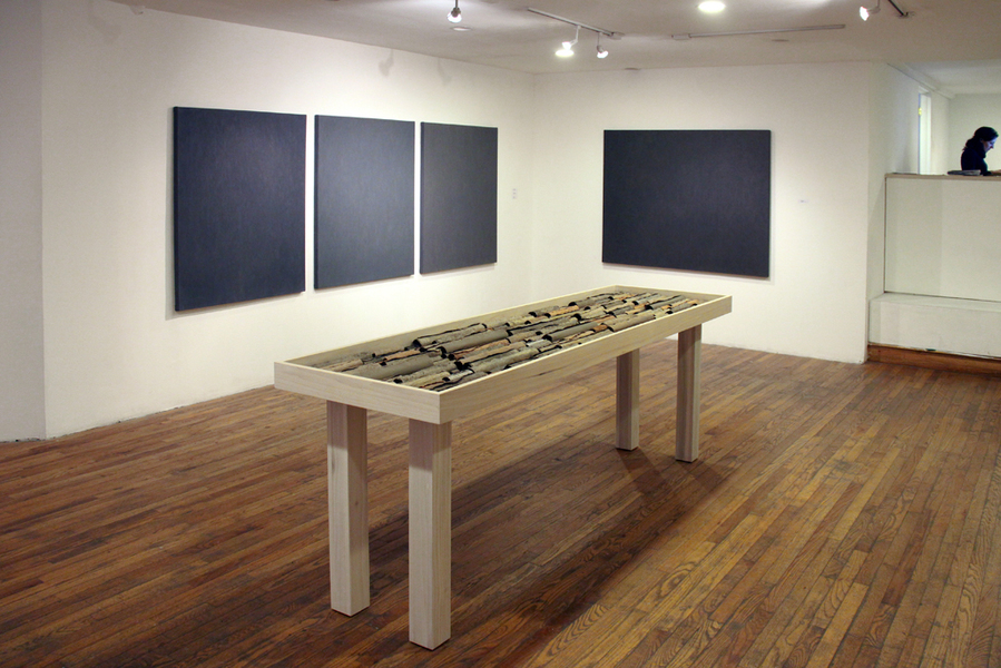 Gateless Gates, Y Gallery,  NYC, November 21-December 23, 2014  Gateless Gates (installation view)