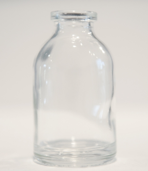 Renee Couture Sanctuary: an Echo of Frustration (2010) glass bottle, collected tears