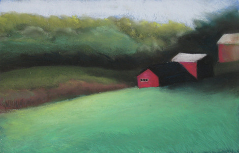 REBECCA B.CLARK Little Landscapes Pastel