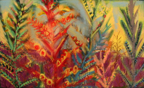 REBECCA B.CLARK Patty Pan Pastel Series Pastel and Gouache