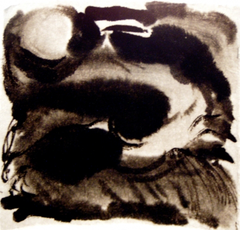 Rebecca J. Moran Sumi Ink on Shuen sumi ink on shuen paper