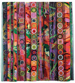 "Reni Gower Triple Panels 58.5"" x 56"""