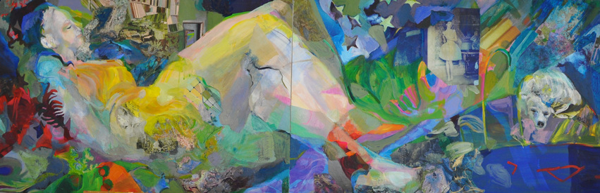 revi meicler 36 Views       Mixed media on panel