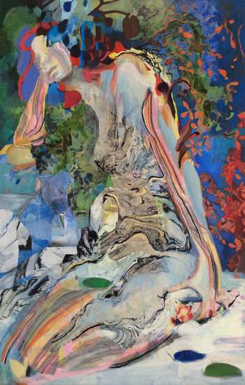 revi meicler Metamorphosis _  Mixed Media mixed media on canvas