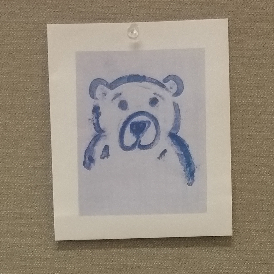 Work Station Blue Bear.