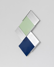Richard Rezac Recent Work 2011 - Aluminum and painted maple wood
