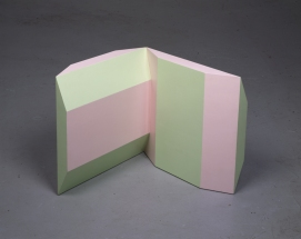 Richard Rezac Sculpture 1985-1996 Painted wood