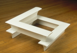 Richard Rezac Sculpture 1985-1996 Painted poplar wood