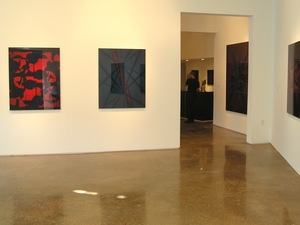 RICHARD CALDICOTT Loop, Goss Gallery, Dallas  2005