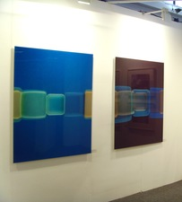 RICHARD CALDICOTT London Art Fair, Art Projects - Galerie f5,6 2010