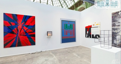 RICHARD CALDICOTT Art Paris Art Fair 2014 - Laurent Delaye Gallery