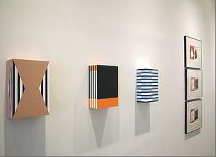RICHARD CALDICOTT Color as Structure, McKenzie Fine Art, New York, 2014
