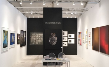 RICHARD CALDICOTT CONTEXT ART MIAMI, Sous Les Etoiles Gallery, 2014